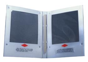 Intérieur du carnet