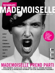 Série d''illustrations (études) pour le magazine Mademoiselle, hors-série mode mensuel de Technikart
