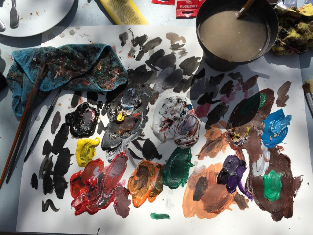 La palette de couleurs de Miroslav Sekulic-Struja